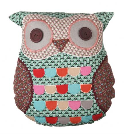40% off JIMMY GREEN OWL CUSHION